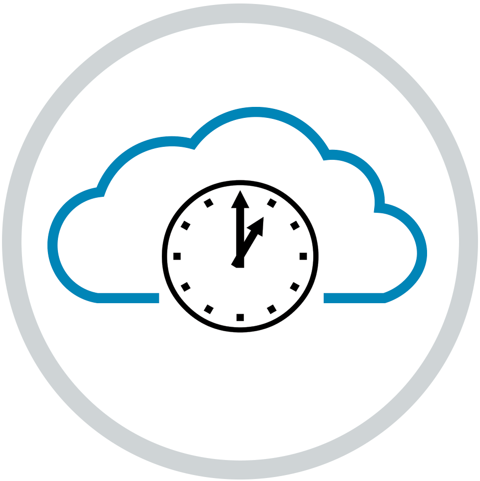 cloud dial icon