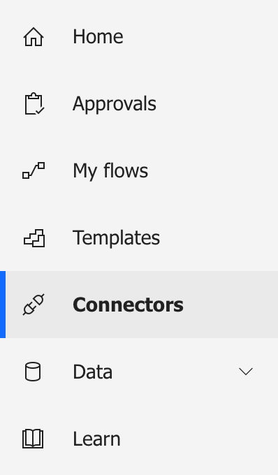 Adding new connectors for your flows